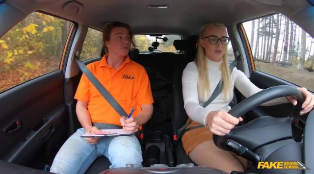 FakeDrivingSchool – Amaris – Blonde learner with perfect boobs Online Free