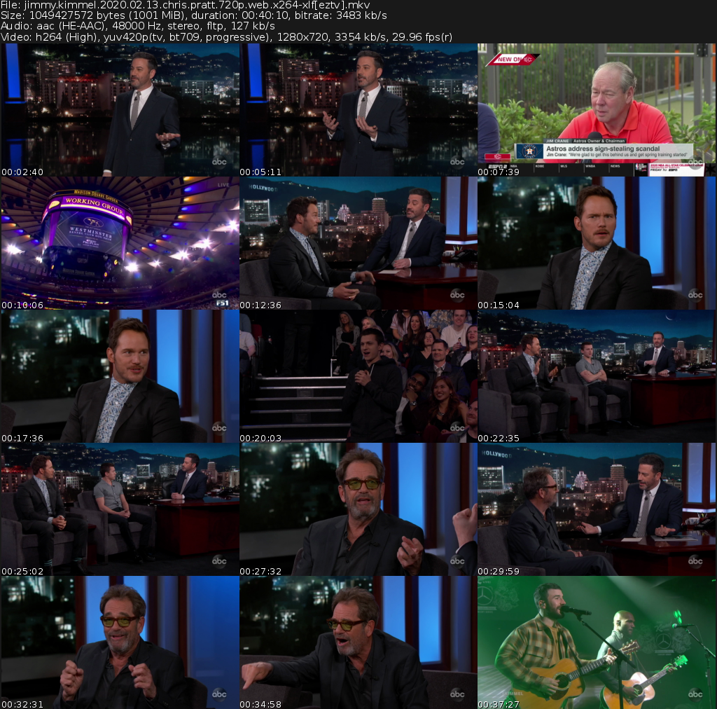 Jimmy Kimmel Live Movie