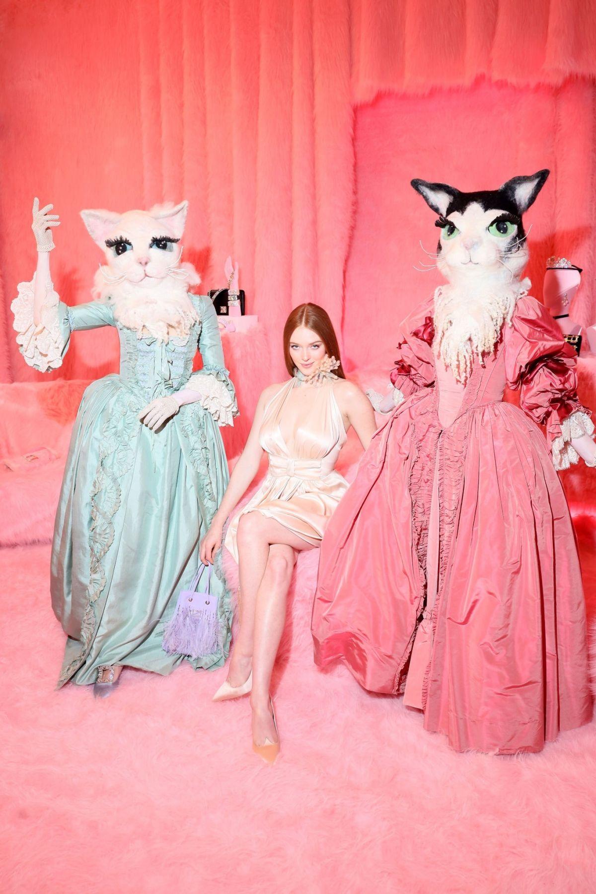 Larsen Thompson – Roger Vivier Press Day at Paris Fashion Week 27 February, 2020