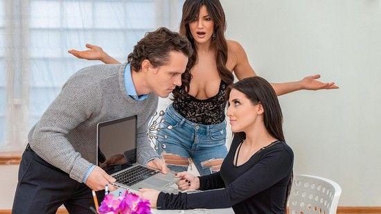 MomsBangTeens – Aubree Valentine And Becky Bandini – Competitive Interns Online Free